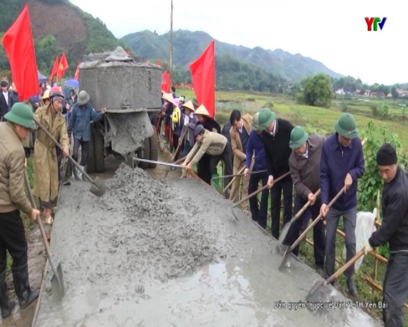 Văn Yên phát động phong trào làm đường giao thông nông thôn