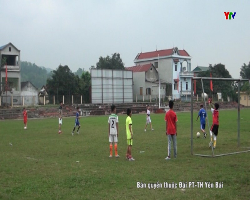 Văn Yên sẵn sàng cho giải bóng đá nhi đồng Cúp PT-TH tỉnh Yên Bái lần thứ XV năm 2017
