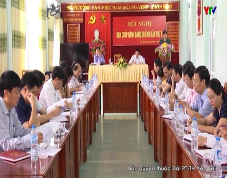 Hội nghị lần thứ 8 - Ban Chấp hành Đảng bộ Khối các cơ quan tỉnh