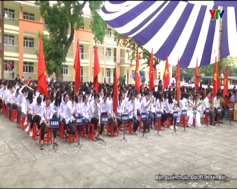 Trường THPT Lý Thường Kiệt tổng kết năm học 2017 - 2018