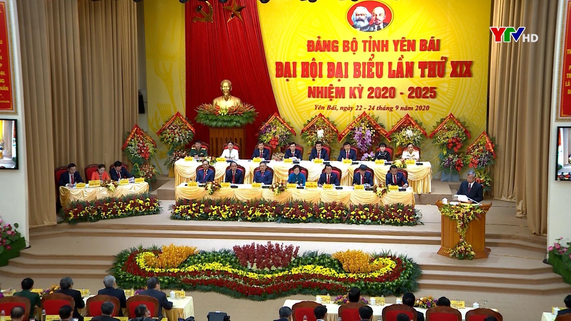 Tường thuật khai mạc Đại hội Đảng bộ tỉnh Yên Bái lần thứ XIX, nhiệm kỳ 2020 - 2025