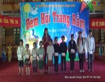 Tết Trung thu với trẻ em nghèo vùng lũ xã Kim Nọi huyện Mù cang Chải