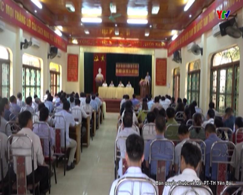 Hội nghị Ban Chấp hành Đảng bộ huyện Trạm Tấu lần thứ 24 (mở rộng)