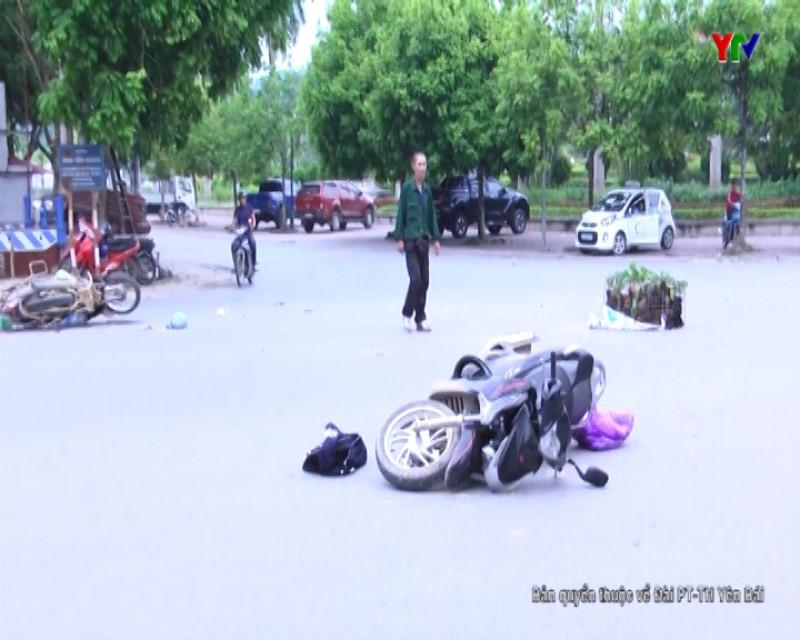 1 người bị thương nặng do va chạm giao thông