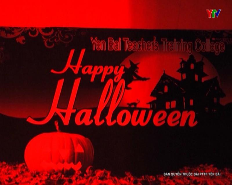 """""""Đêm Halloween"""" tại Trường Cao đẳng Sư phạm Yên Bái"""